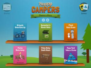 Happy Campers Screen